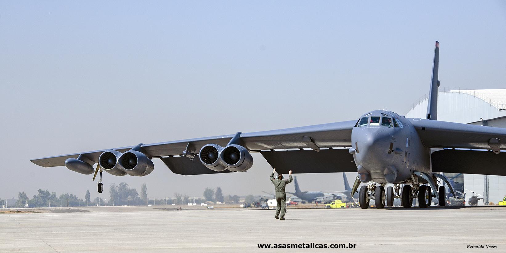 Chegada do B-52 a Fidae