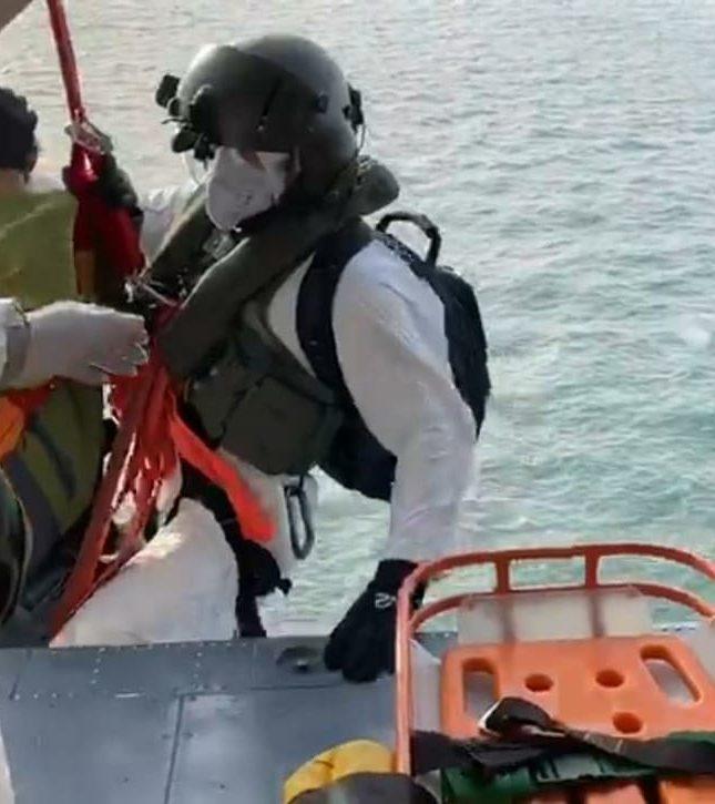 Esquadrao Pantera realiza resgate
